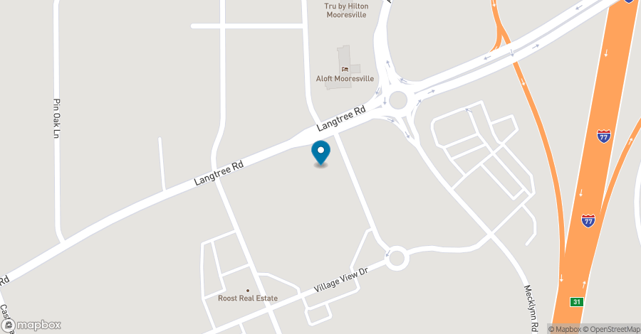 Map of 106 Langtree Village Drive in Mooresville