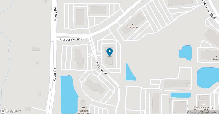 Map of 3505 Lake Lynda Drive in Orlando