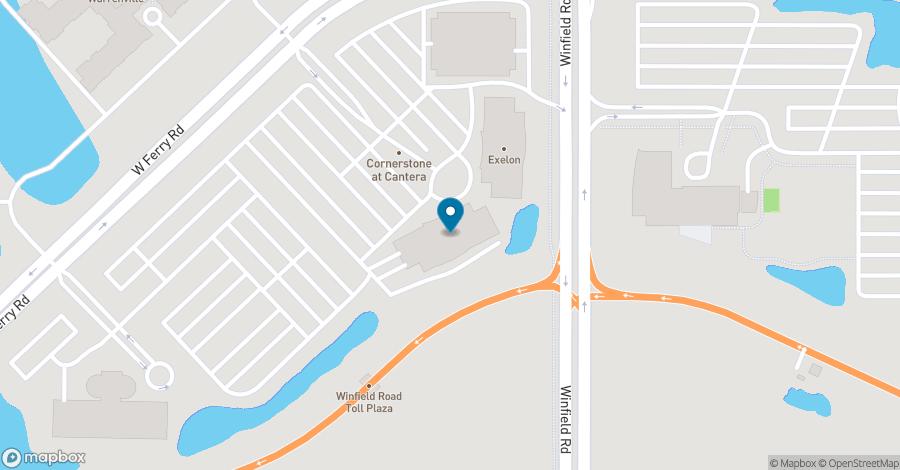 Map of 4320 Winfield Road in Warrenville
