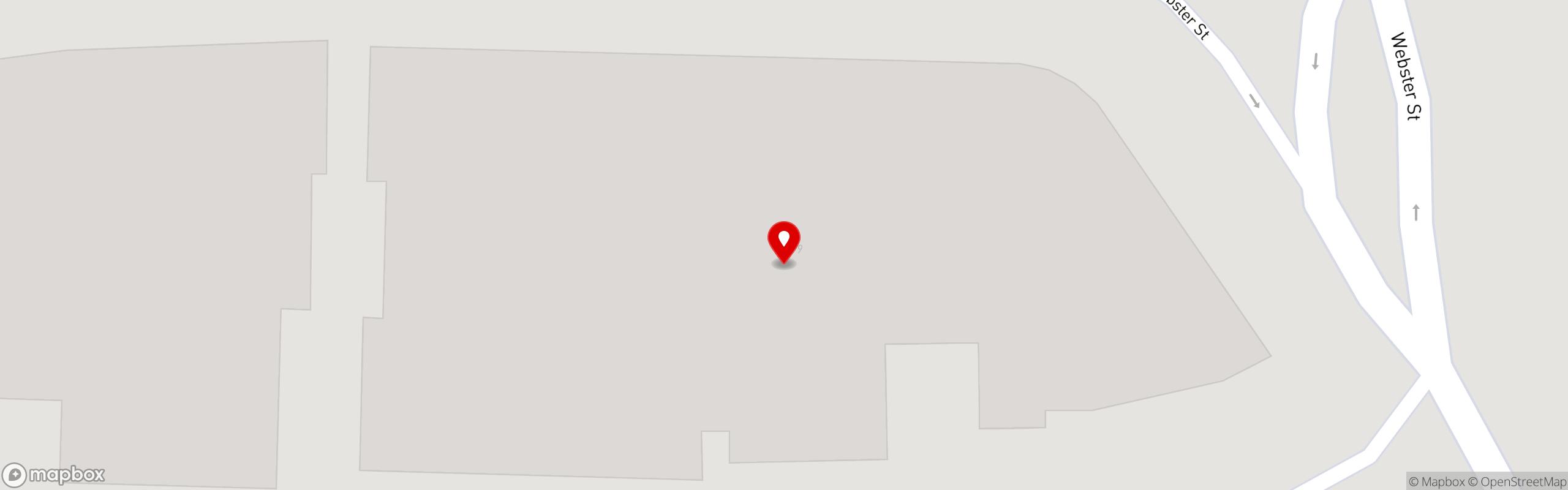Map of restaurant locations