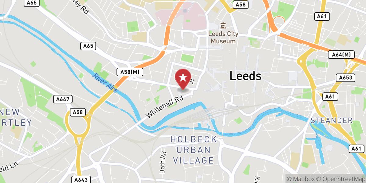 Mapbox Map of -1.5525484085083008,53.79611370916119