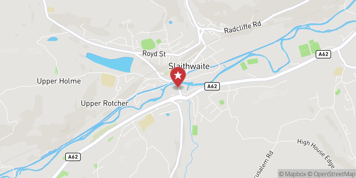 Mapbox Map of -1.8809642791748047,53.621620178222656
