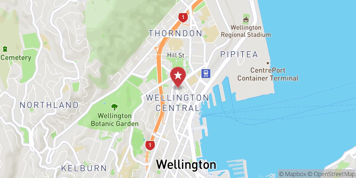 Mapbox Map of 174.776042,-41.280586