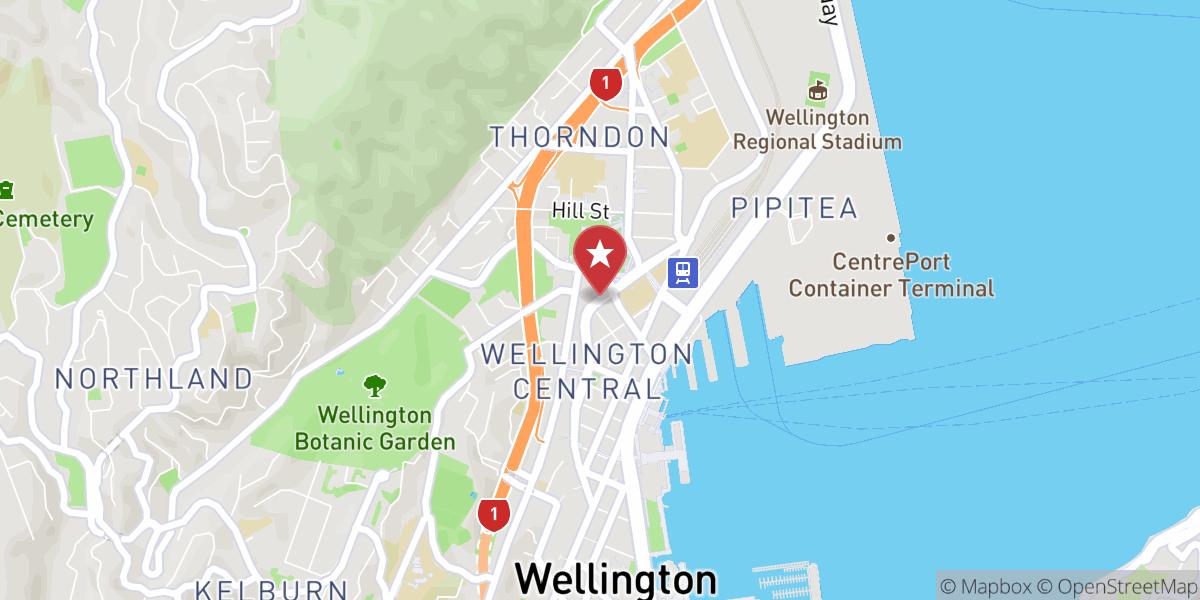 Mapbox Map of 174.7765374629732,-41.27978710914216