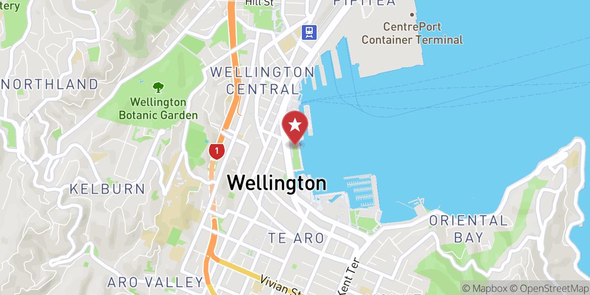 Mapbox Map of 174.77881668464997,-41.2864755752147