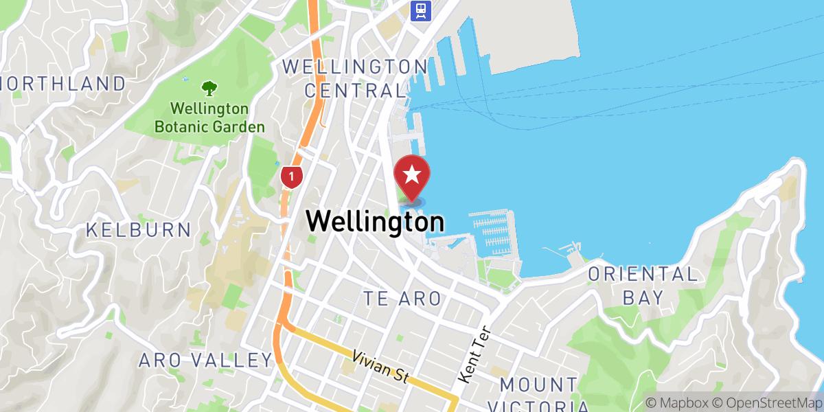 Mapbox Map of 174.77952846465723,-41.28807366373124