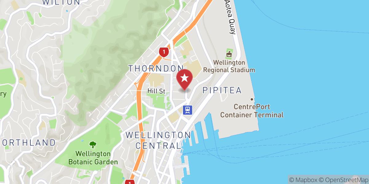 Mapbox Map of 174.77963998072318,-41.27700399558504