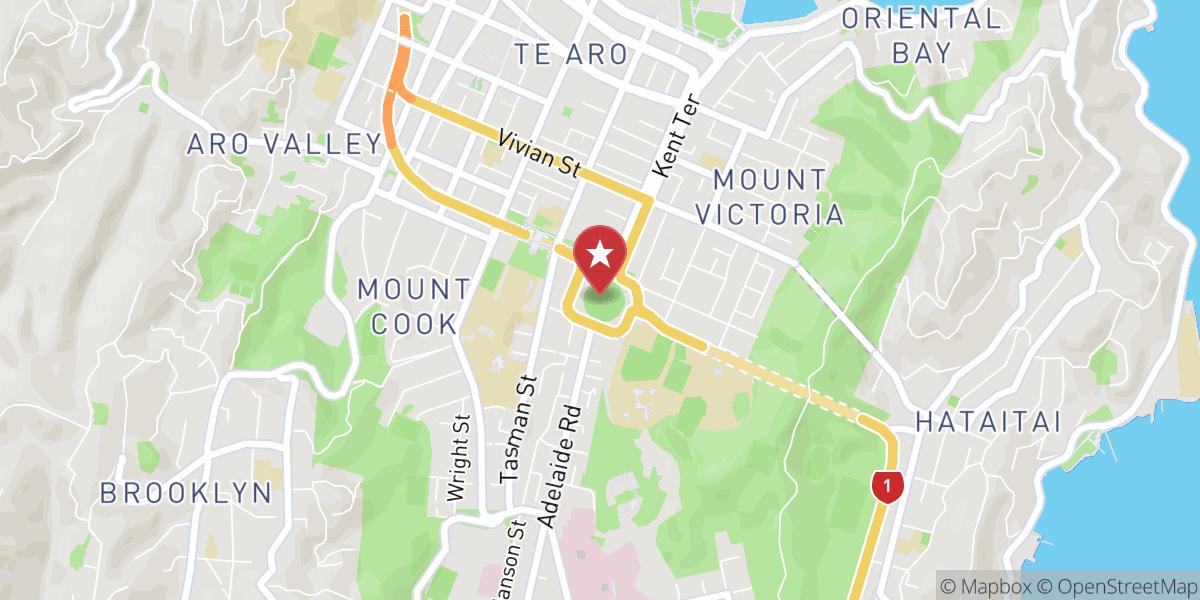 Mapbox Map of 174.7801637649536,-41.30034653170272