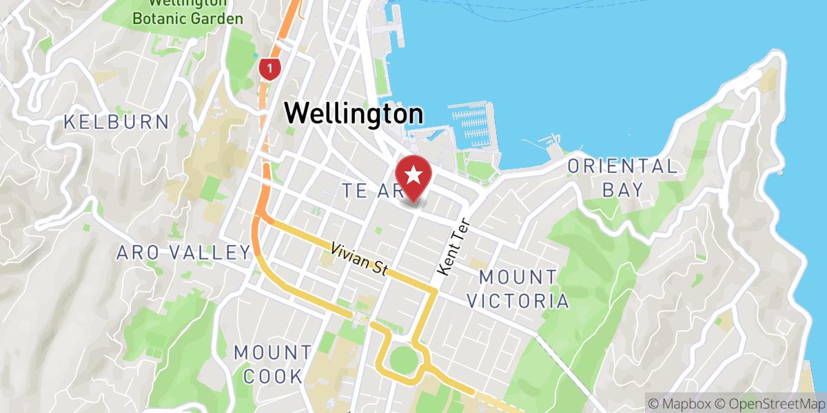 Mapbox Map of 174.780939,-41.293161