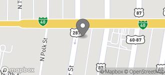 Map of 200 E. Amarillo Blvd. in Amarillo