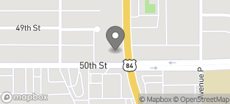 Map of 1702 S. 50th Street in Lubbock