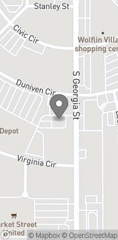 Map of 2414 S Georgia St in Amarillo