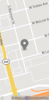 Map of 210 W Longview Ave in Midland