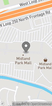 Map of 4511 N Midkiff Rd in Midland