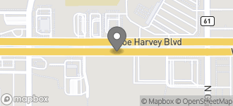 Map of 1005 W. Joe Harvey Blvd in Hobbs