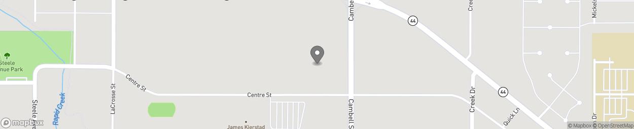 Carte de 515 Cambell Street à Rapid City