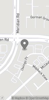 Mapa de 7376 McLaughin Road en Falcon