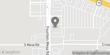 Map of 7965 Fountain Mesa Rd in Fountain