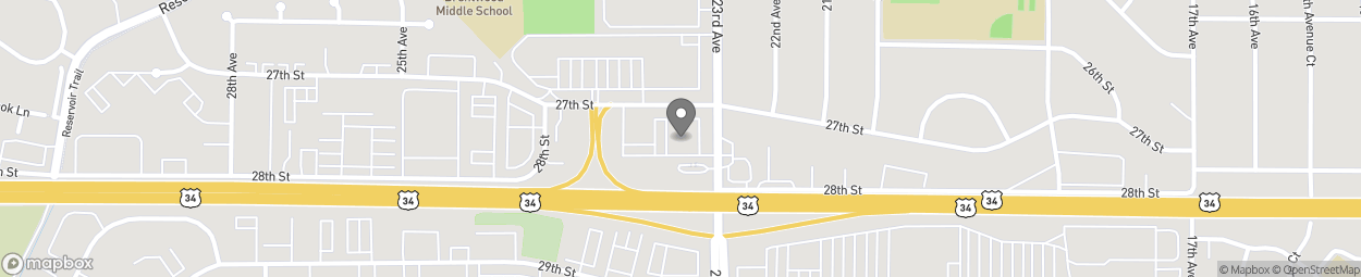 Map of 2707 23rd Ave in Greeley