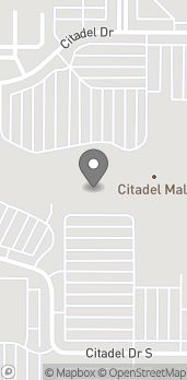 Map of 750 Citadel Dr E in Colorado Springs