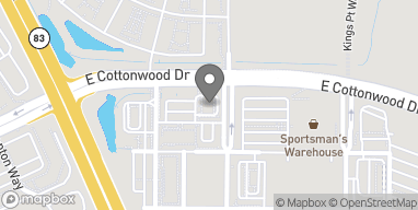 Map of 18400 Cottonwood Dr in Parker