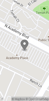 Map of 5190 N Academy Blvd in Colorado Springs