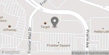 Map of 1740A Dell Range Blvd in Cheyenne