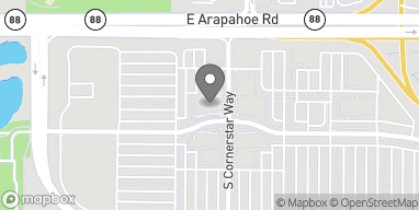 Mapa de 6755 Cornerstar Way en Aurora