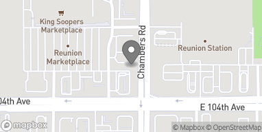 Map of 10439 Chambers Rd in Commerce City