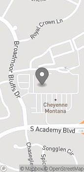 Map of 6530E S Academy Blvd in Colorado Springs