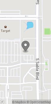 Map of 14401 E Bayaud Ave in Aurora