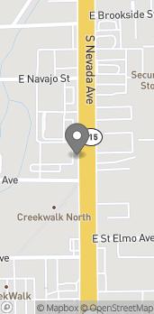 Mapa de 1634 S Nevada Ave en Colorado Springs