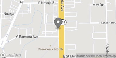 Map of 1634 S Nevada Ave in Colorado Springs