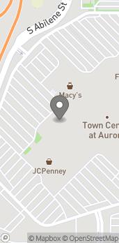 Map of 14200 E Alameda Ave in Aurora