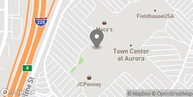 Mapa de 14200 E Alameda Ave en Aurora