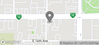 Map of 11900 E. Colfax Avenue in Aurora