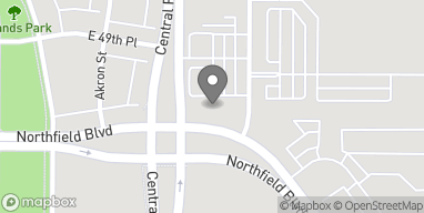 Mapa de 9165 E Northfield Blvd en Denver