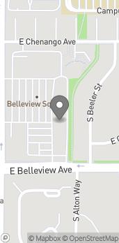 Map of 4940 S Yosemite in Greenwood Village