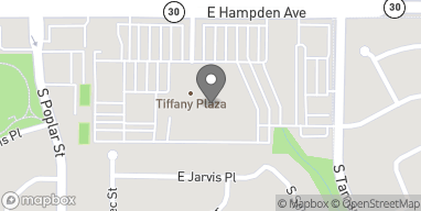 Mapa de 7400 East Hampden Ave en Denver