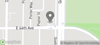 Map of 7295 E. 64th Avenue in Commerce City