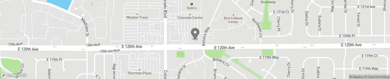 Map of 4007 East 120th Avenue in Thornton