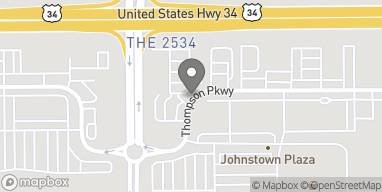 Map of 4932 Thompson Parkway in Johnstown