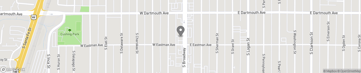 Map of 3191 S Broadway in Englewood
