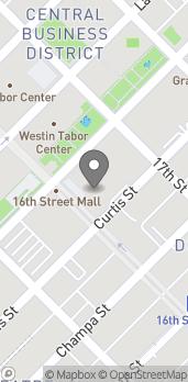Mapa de 1001 16th St en Denver