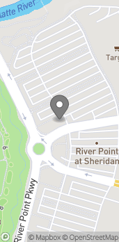 Map of 3702 River Point Pkwy in Sheridan