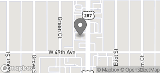 Map of 4925 N. Federal Blvd in Denver