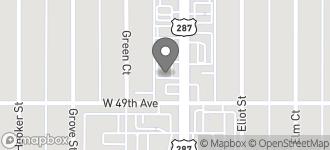 Map of 4925 N. Federal Blvd in Denver