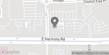 Mapa de 2740 E Harmony Road en Ft Collins