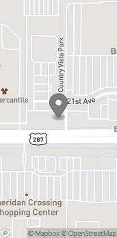 Mapa de 4700 W 121st Ave en Broomfield