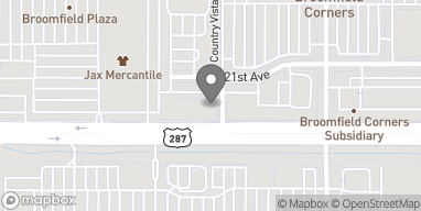 Map of 4700 W 121st Ave in Broomfield
